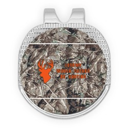 Hunting Camo Golf Ball Marker - Hat Clip