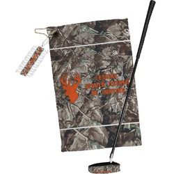 Hunting Camo Golf Towel Gift Set (Personalized)