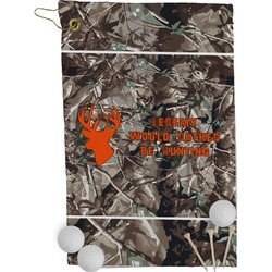 Hunting Camo Golf Towel - Full Print (Personalized)