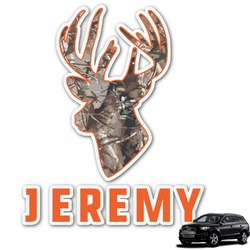 Hunting Camo Graphic Car Decal (Personalized)