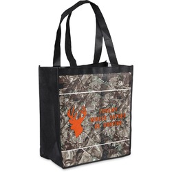 Hunting Camo Grocery Bag (Personalized)