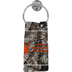 Hunting Camo Hand Towel - Full Print (Personalized)
