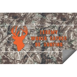 Hunting Camo Indoor / Outdoor Rug - 6'x9' (Personalized)