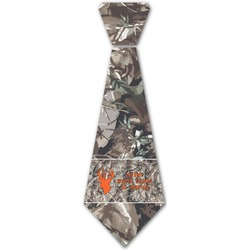 Hunting Camo Iron On Tie (Personalized)