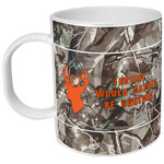 Hunting Camo Plastic Kids Mug (Personalized)