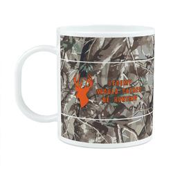 Hunting Camo Plastic Kids Mug (Personalized)