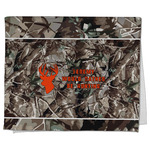 Hunting Camo Kitchen Towel - Full Print (Personalized)