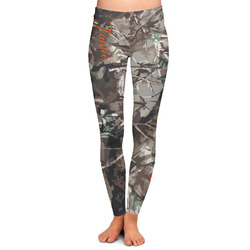 Hunting Camo Ladies Leggings (Personalized)