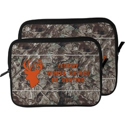 Hunting Camo Laptop Sleeve / Case (Personalized)
