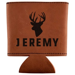 Hunting Camo Leatherette Can Sleeve (Personalized)