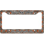 Hunting Camo License Plate Frame - Style B (Personalized)