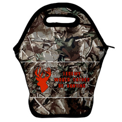 Hunting Camo Lunch Bag w/ Name or Text