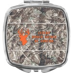 Hunting Camo Compact Makeup Mirror (Personalized)