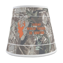 Hunting Camo Empire Lamp Shade (Personalized)