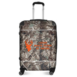 """Hunting Camo Suitcase - 24""""Medium - Checked (Personalized)"""