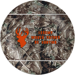 Hunting Camo Melamine Plate (Personalized)
