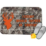Hunting Camo Memory Foam Bath Mat (Personalized)