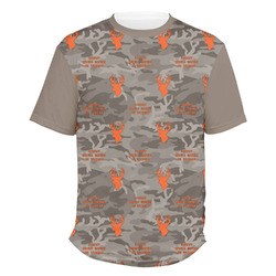 Hunting Camo Men's Crew T-Shirt (Personalized)
