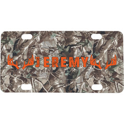 Hunting Camo Mini / Bicycle License Plate (Personalized)