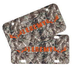 Hunting Camo Mini/Bicycle License Plates (Personalized)