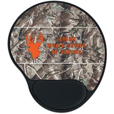 Hunting Camo Mouse Pad with Wrist Support