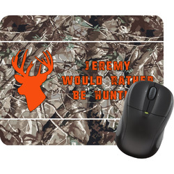 Hunting Camo Rectangular Mouse Pad (Personalized)