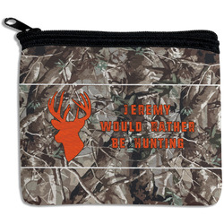 Hunting Camo Rectangular Coin Purse (Personalized)