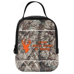 Hunting Camo Neoprene Lunch Tote (Personalized)