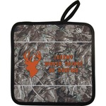 Hunting Camo Pot Holder w/ Name or Text