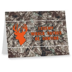 Hunting Camo Note cards (Personalized)