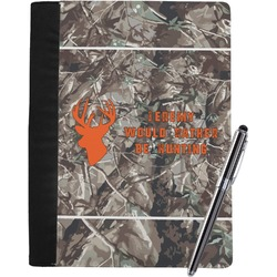 Hunting Camo Notebook Padfolio (Personalized)