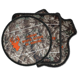 Hunting Camo Iron on Patches (Personalized)