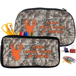Hunting Camo Pencil / School Supplies Bag (Personalized)