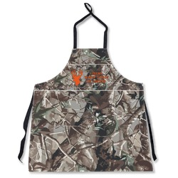 Hunting Camo Apron Without Pockets w/ Name or Text