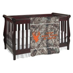 Hunting Camo Baby Blanket (Personalized)