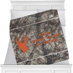 Hunting Camo Minky Blanket (Personalized)