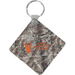 Hunting Camo Diamond Key Chain (Personalized)