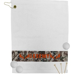 Hunting Camo Golf Towel (Personalized)