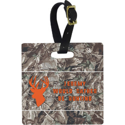 Hunting Camo Luggage Tags (Personalized)