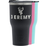 Hunting Camo RTIC Tumbler - Black (Personalized)