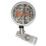 Hunting Camo Retractable Badge Reel (Personalized)