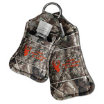 Hunting Camo Hand Sanitizer & Keychain Holder (Personalized)