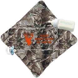 Hunting Camo Security Blanket (Personalized)