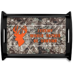 Hunting Camo Wooden Trays (Personalized)