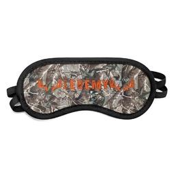 Hunting Camo Sleeping Eye Mask (Personalized)