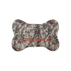 Hunting Camo Bone Shaped Dog Food Mat (Small) (Personalized)