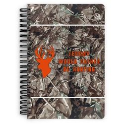 Hunting Camo Spiral Bound Notebook (Personalized)