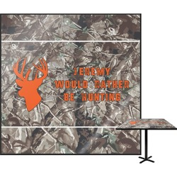 """Hunting Camo Square Table Top - 30"""" (Personalized)"""