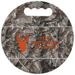Hunting Camo Stadium Cushion (Round) (Personalized)