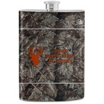 Hunting Camo Stainless Steel Flask (Personalized)